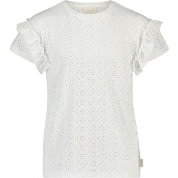 Sally broderie jersey white