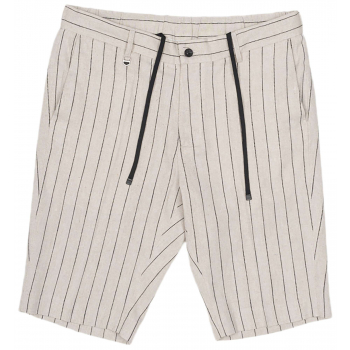 Chino shorts joe sand & blk striped