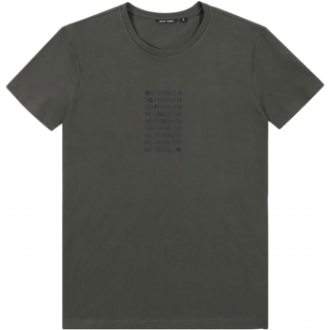 T-shirt slimfit jersey cott. green bottle 4064
