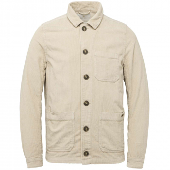 Button jacket corduroy worker silver lining