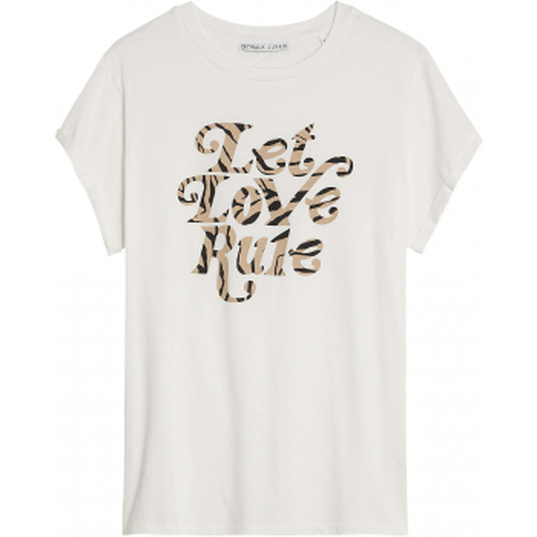 T-shirt  aaliyah off white