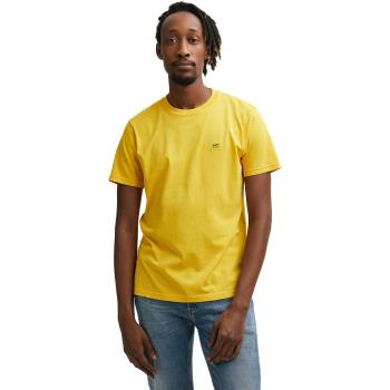 Denham applique tee yellow