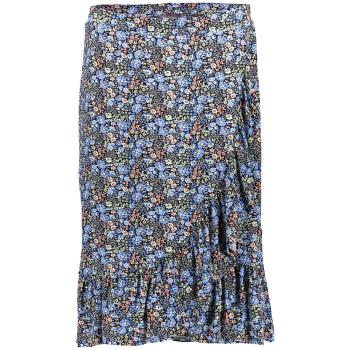 Skirt strech ticot blue printed