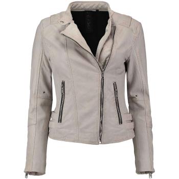 Kirima leder jacket  off white