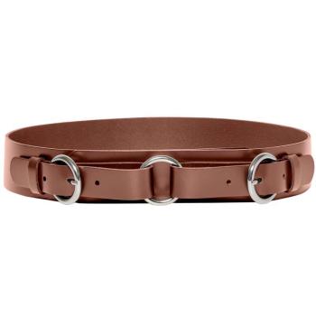 Onlabigail leather waist belt cc cognac