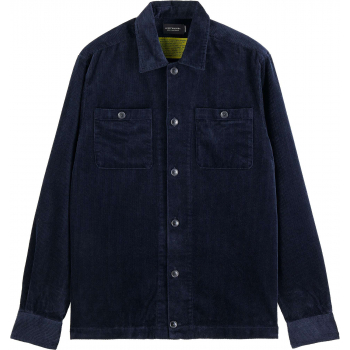 Seasonal relaxed fit corduroy overs night blue