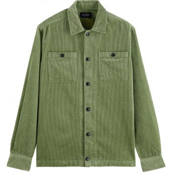 Seasonal relaxed fit corduroy overs sea frost
