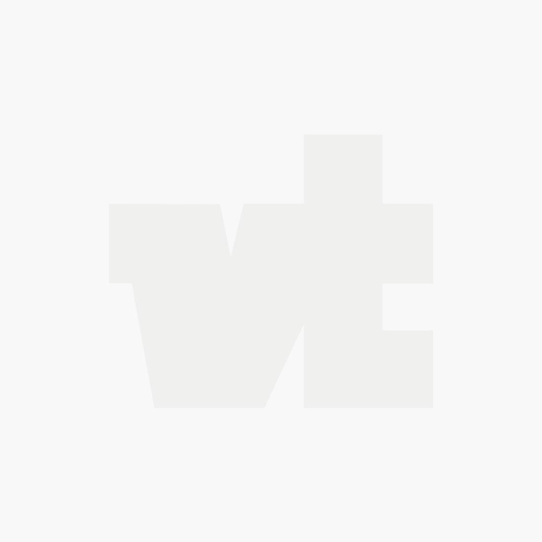 High neck slim fit rib t-shirt in t eggshell