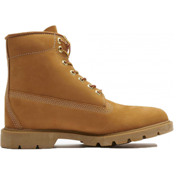 Basic boot noncontrast collar yellow brown