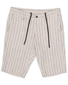 Chino shorts joe sand & blk striped
