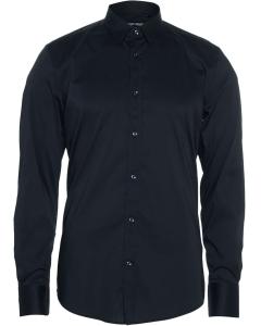 Timeless shirt long sl. super slim blue ink 7073