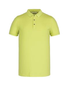 Short sleeve polo light pique stre daiquiri green
