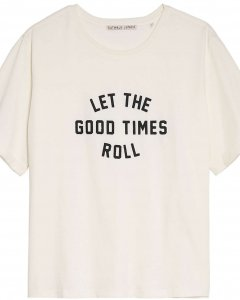 T-shirt roll off white