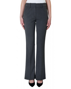 Clara long flare pantalon theory grey