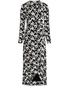 Natasja dress black & warm white