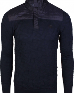 Pull with zipper navy