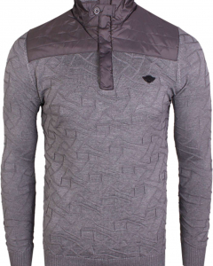 Pull with zipper grey