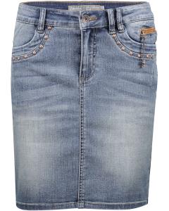 Skirt blue denim