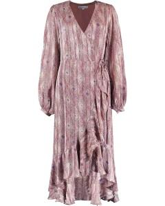 Yael wrapp dress soft pink
