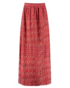 Fayen skirt long red