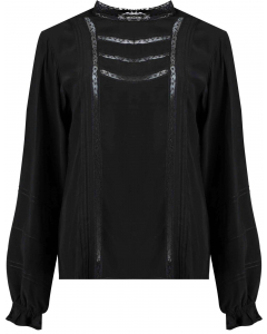 Spencer longsleeve top black