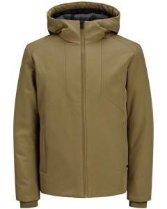 Blareid down jacket dark coat khaki