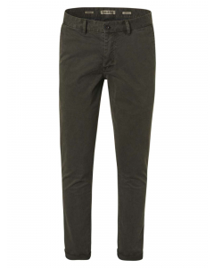 Pants chino stretch l32 dark green