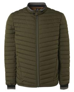Jacket short fit padded basil