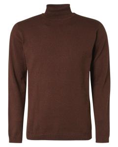 Pullover turtleneck rusty