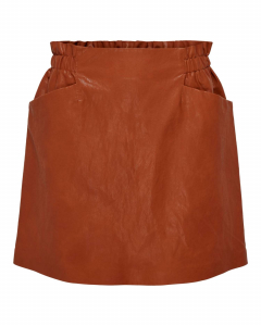 Darling faux leather skirt