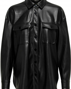 Onlbrylee-dionne faux leather shirt