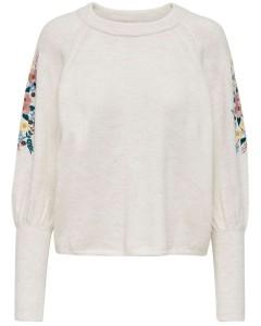 Svala l/s o-neck pullover knit