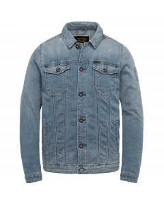 Denim jacket bright comfort light