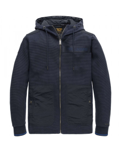 Hooded jacket structure sweat night sky