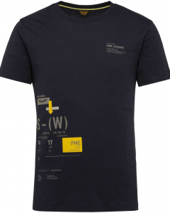 Short sleeve r-neck single jersey sky captain