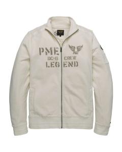 Zip jacket dry terry egret