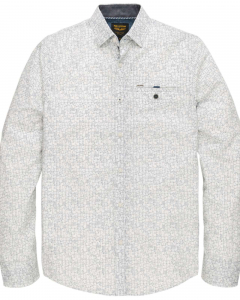Long sleeve shirt poplin with all- bright white