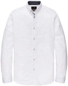 Long sleeve shirt structured melan bright white