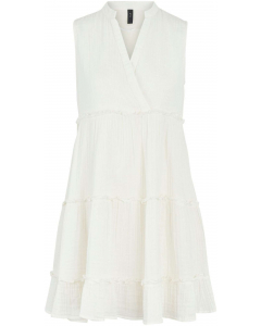 Lima sleeveless dress eggnog