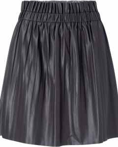 Pu mini skirt phantom